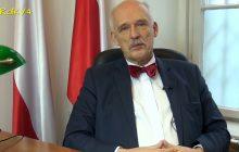 Janusz Korwin-Mikke potwierdza, że będzie kandydował w wyborach na prezydenta Warszawy. Ma również pomysł na pomnik smoleński