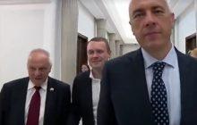 Niesiołowski znów wpadł w szał. Oberwało się dziennikarce TVP.