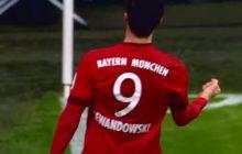 Lewandowski grał tylko 21 minut, ale i tak strzelił gola dla Bayernu. Świętował... z podbitym okiem [FOTO+WIDEO]